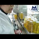 Automatic Gear flowmeter edible oil salad oil filling capping machine line