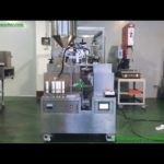 Good quality semi automatic plastic tubes filling Ultrasonic sealing machine for cosmetic factory
