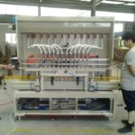 4 Heads Automatic Sulfuric Acid Liquid Filling Machine With Corrosion-Proof  Nozzles 20L Pail Filler