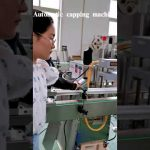 Automatic Factory Price Linear Type Bottle Capping Machine without Leaking