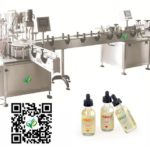 Gorilla bottle Filling Machines For Malaysian Client 60ml chubby bottle filler tightening machine