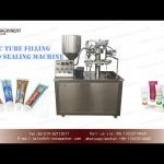 small plastic tube filling machine for Pet toothpaste YQ machinery ointment tube filling equipment