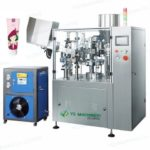Easy operation automatic tube filling sealing machine with PLC control