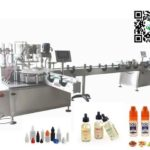 Rotary type cap sealing machine for 100ml gorilla chubby lid capper testing video for USA client