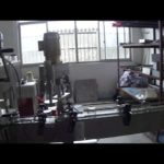 Automatic capping machine for screw caps and lug caps single head capper system working video