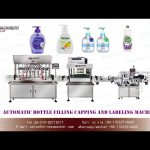 bottle filling capping labeling machine for liquid soap|hand sanitizer filler with explosion-proof