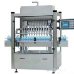 fully automatic corrosion resistant liquid filling machine with eight nozzles filling line