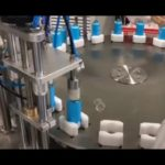 Automatic body cream filling and packaging line from THE WORLD FACTORY