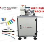 Wire Folding Labeling Machine For USB Power Data Cables Self Adhesive Labeler