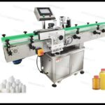 Factory price Automatic round pet bottles Jars cans Labeling Machine in different industries