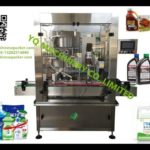 single nozzle cover tightening machine linear lid cap closing capping equipment good price supplier