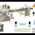 vial rotary filling roll on capping machine liquid bottling adhesive labeler collecting equipment
