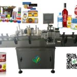 bottle labeling machine manufacturers for round jar tin can vertical labeler