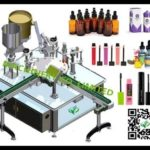 automatic eye drop liquid filling stoppering capping machine chubby gorilla bottle rotary filler