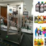 Round Square Flat Bottle Automatic Screw Capping Machine lube oil bottles tightening equipment