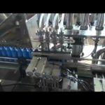 PLC control Automatic Syrup Filling and Capping Machinery Liquid Fill Cap Machine Bottles Filler