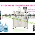 Fixed point and positioning labeling machine for bottle with hand shank sticker labeler