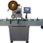 auto plane label applicator vertical labeling equipment with self adhesive labels mould labeller