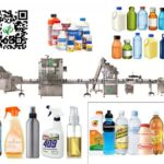 automatic PET bottle sorting filling screw capping machine inline filler solution