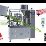 rotary tube filling sealing machines for facial foam hand lotion shampoo filler sealer equipment