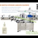 Cosmetic bottle sticker labeling equipment manufacturer adhesive clear label application machine