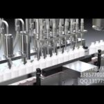 Large doses of liquid filling pressing machine in-line bottle feeder filler capper machinery