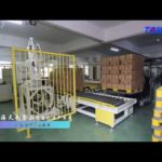 Automatic foodstuff production line -filling  capping  labeling machine robot stacker-TOM PACK
