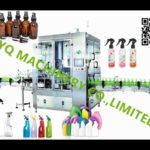 high speed tigger sprayer cappers rotary 8 nozzles mist spray bottle cap screwing machines