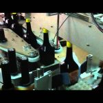 Automatic adhesive three sides square bottle labeling machine manufacturer for glass bottles