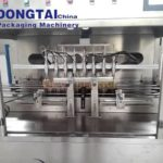 Auto piston type Eight heads oil filling capping machine for various cooking oil, edible oil