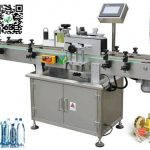 mineral water labeling machine with coder pet bottle label applicator wrap around labeler