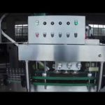 Auto in-line screw capping machine for plastic bottles cap tightening equipment with feeding system