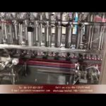 hand sanitizer bottle filling machine inline filling systems with capper and labeler