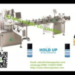 body adhesive glue filling roller on capping machines round bottle label application system