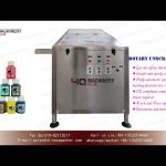 rotary unscramble machine for 15 and 20ml automatic bottle sorting  production line