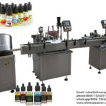 E Liquid  Filling And Capping Machine For Electronic Cigarette Liquid Bottling Machinery