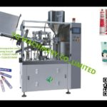Automatic Plastic Tube Filling And Ultrasonic Sealing Machine Hair Cream And Toothpaste Filler