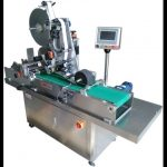 Automatic self adhesive labeler plane labeling machine for bottle cap label applicator supplier