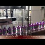 Complete bottling line for alcohol hand sanitizer shampoo dish wash gel filling and capping machines