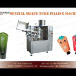 Shaped tube filler and sealer price automatic plastic tube filling machines for cosmetic product