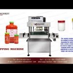 automatic cap screwing machine for jar|spindle cappers price|twist off cappers