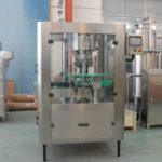High speed automatic crown capping machine glass bottle gland machine metal cap sealer