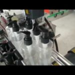 Automatic spray bottle capping machine linear  plastic trigger bottles capper machinery