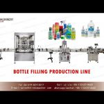 hand sanitizer gel bottling line|bottle filling capping and labeling machine with index setting