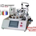 tabletop filler with Ceramic pump for vial rotary filling and capping machine