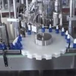 plunger pump type spray bottle filling and capping equipment for skin lotion bottling machine