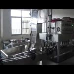 Automatic screw capping machine for lug caps screwing equipment working video