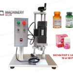 semi automatic table top capping machine for screw cap sealing machinery
