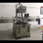 atuomatic trigger spray plastic bottle capper with 4 wheels lid capping machine آلة السد