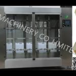 linear motor oil weighing type filling machine cooking coconut oil diving type filler equipment